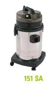 ASPIRO 151 SA - WET/DRY INDUSTRIAL VACUUM CLEANER - MADE IN ITALYA