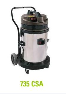 ASPIRO 735 CSA - WET/DRY INDUSTRIAL VACUUM CLEANER - MADE IN ITALYA