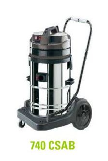 ASPIRO 740 CSAB - WET/DRY INDUSTRIAL VACUUM CLEANER - MADE IN ITALY