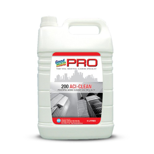 200 ACI-CLEAN -POWERFUL ACIDIC CLEANER & DESCALER